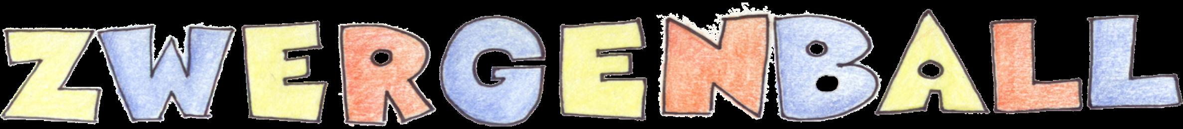 Zwergenball Schriftzug